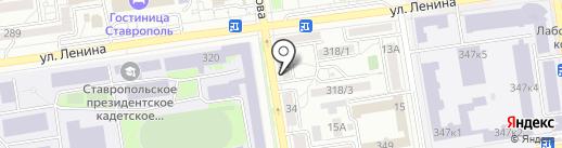 FOODCLUB на карте Ставрополя