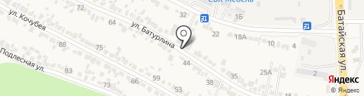 РОСПЭЙ на карте Верхнерусского