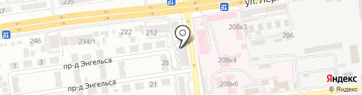 Iza Bella на карте Ставрополя