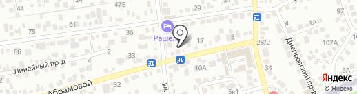 Автоателье на карте Ставрополя