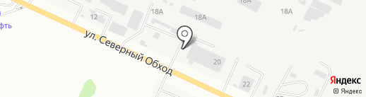 Гермес на карте Ставрополя