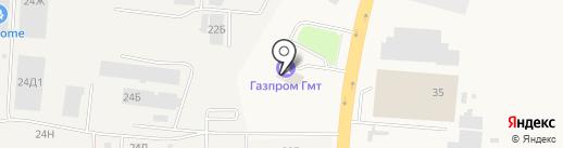 АГНКС на карте Верхнерусского