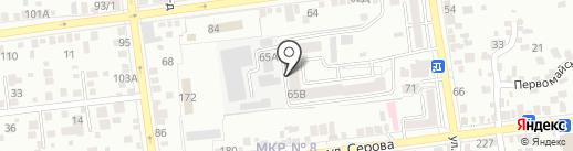 Свой угол на карте Ставрополя