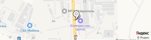 Компрессор-центр на карте Верхнерусского