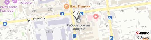 Доктор Климат на карте Ставрополя