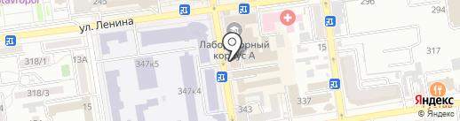 Diner`s на карте Ставрополя