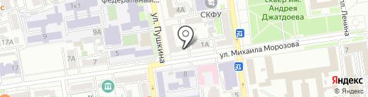 Gyros на карте Ставрополя