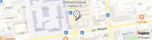122 военная автомобильная инспекция (территориальная) на карте Ставрополя