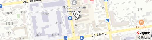 ЕвроШИК на карте Ставрополя
