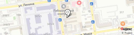 Красавец мужчина на карте Ставрополя