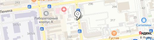 Маас на карте Ставрополя