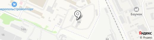 Ставстройкомплект на карте Верхнерусского