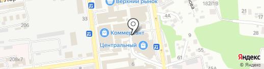 Ea на карте Ставрополя