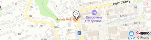 Маяк на карте Ставрополя