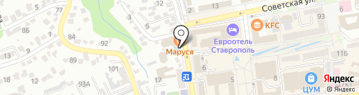 ТОНУС-КЛУБ на карте Ставрополя