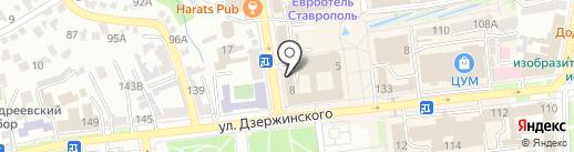 Кулинария на карте Ставрополя