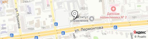 Отдел Военного комиссариата Ставропольского края по г. Ставрополю на карте Ставрополя