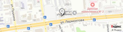 Артикул Продакшн на карте Ставрополя