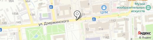 Страховое агентство на карте Ставрополя