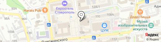 La vetrina на карте Ставрополя