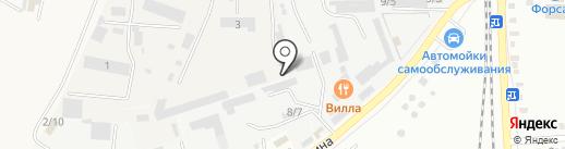 Югспецстрой на карте Михайловска