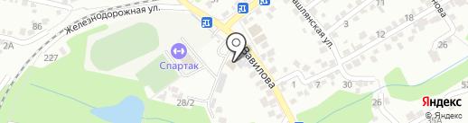 Графъ на карте Ставрополя