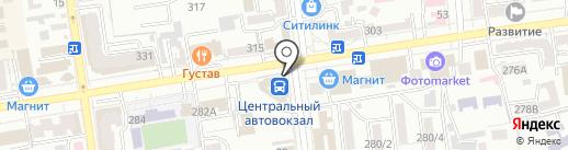 DAS-сервис на карте Ставрополя