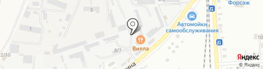 Извольтесь на карте Михайловска
