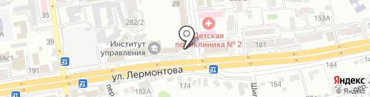 Морковь на карте Ставрополя
