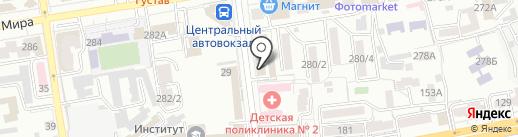 Багетный салон на карте Ставрополя