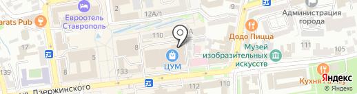 HipStore на карте Ставрополя