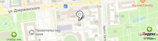 Мобильная фотостудия Алексея Блужина на карте Ставрополя