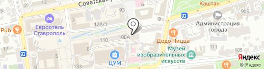Moonlama на карте Ставрополя