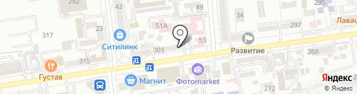 ГОСПОДИН на карте Ставрополя