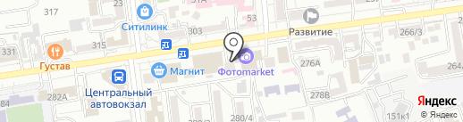 Пальчики на карте Ставрополя