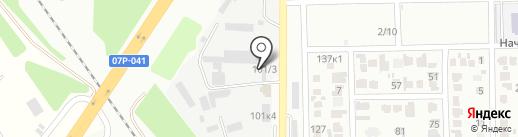 Завод ЖБИ колец на карте Михайловска