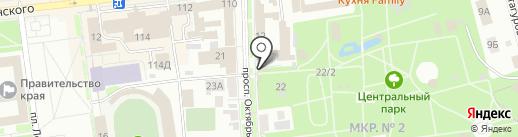 МКС на карте Ставрополя