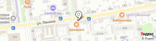 Завод КриалЭнергоСтрой на карте Ставрополя
