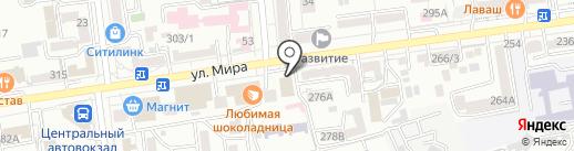 Beauty Zone на карте Ставрополя