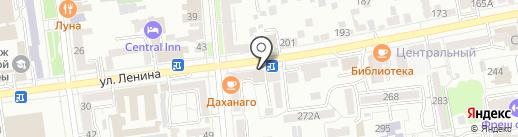 Юрист Журавлева Е.И. на карте Ставрополя