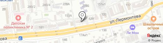 Специализированный отдел государственной регистрации смерти по г. Ставрополю Управления ЗАГС Ставропольского края на карте Ставрополя