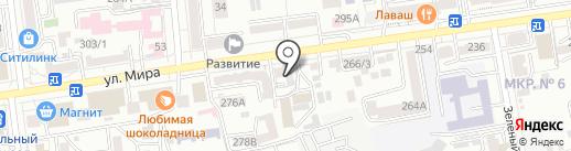 Сообщество анонимных наркоманов на карте Ставрополя