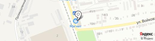 Магнит на карте Михайловска