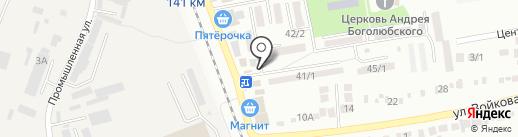 Магазин разливного пива на карте Михайловска