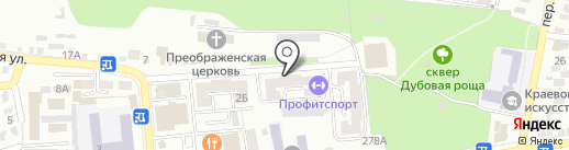 Mossebo на карте Ставрополя