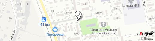 Юлия на карте Михайловска