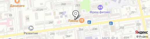 ВАШ ЮРИСТ на карте Ставрополя