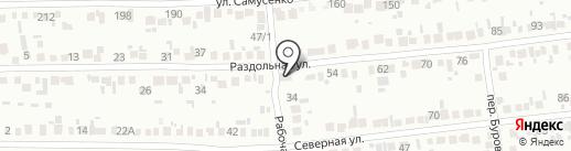Мотор на карте Михайловска