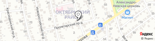 СТО на карте Ставрополя