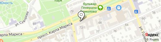 Магазин 5 цен на карте Ставрополя